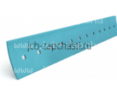 Нож (кромка) челюсти переднего ковша (вваривается) 15x130x2343 мм 123/02362